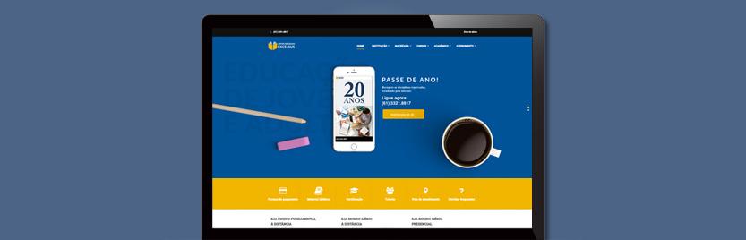 Lançamento do Site Supletivo Excelsus 6