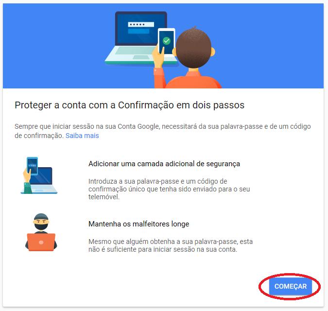 Proteção contra invasores para contas do Google e Youtube 1