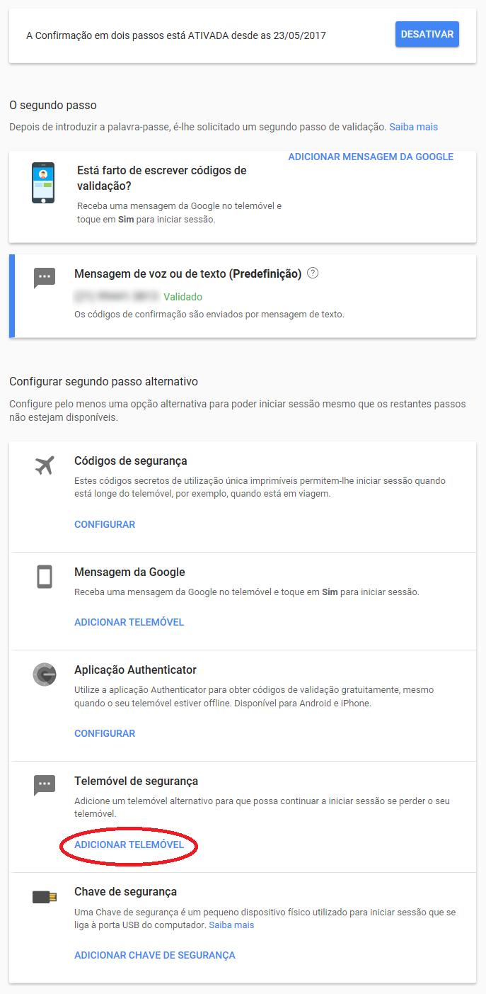 Proteção contra invasores para contas do Google e Youtube 6