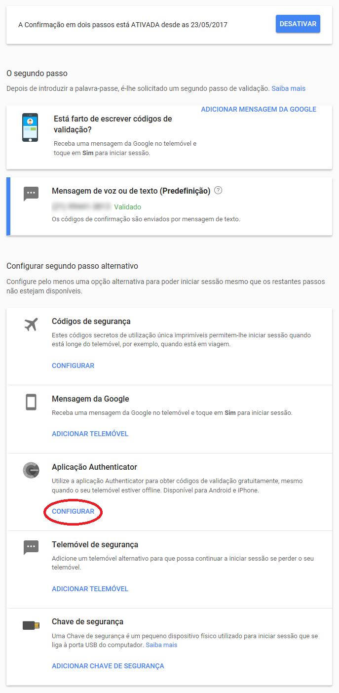 Proteção contra invasores para contas do Google e Youtube 8