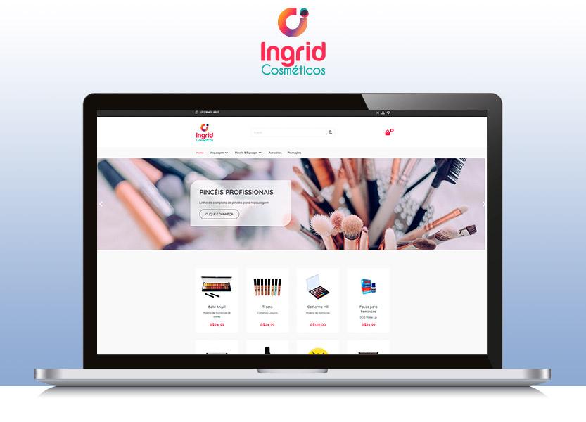 Lançamento da loja Ingrid Cosméticos 1
