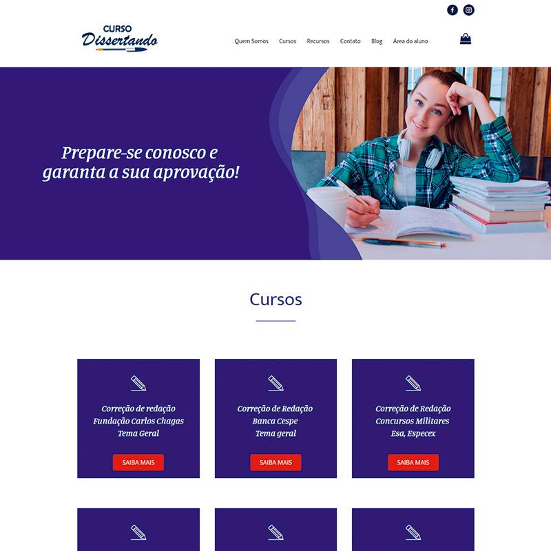 Criação de site e loja virtual 1