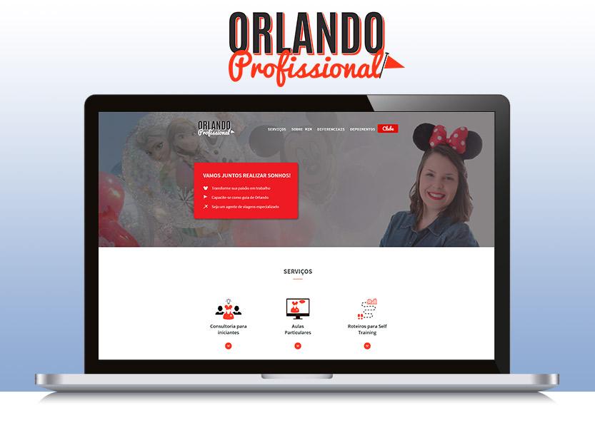 Lançamento do site Orlando Profissional 1