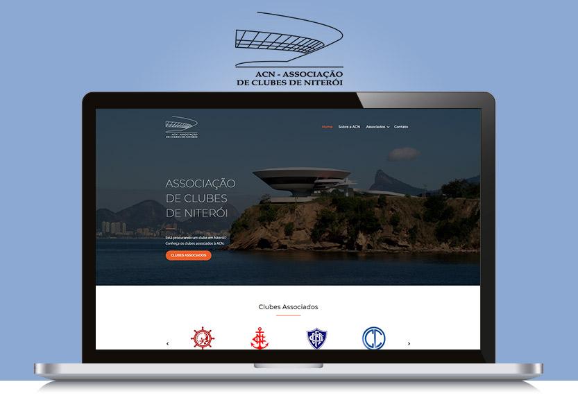 Lançamento do Site ACN - Associação de Clubes de Niterói 1