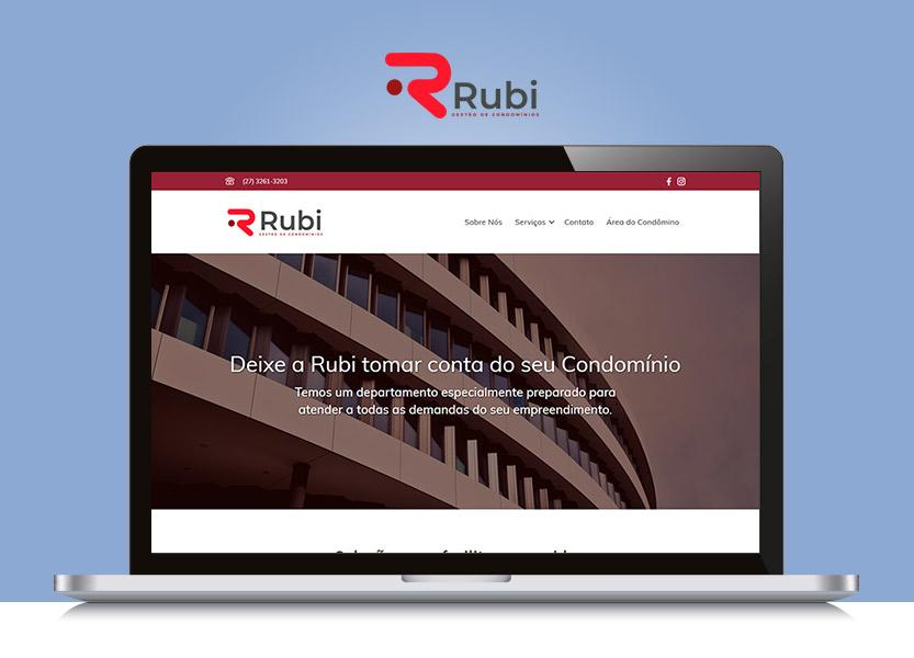 Lançamento do Site Rubi Condomínios 1