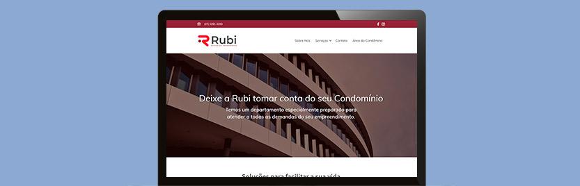 Lançamento do Site Rubi Condomínios 6
